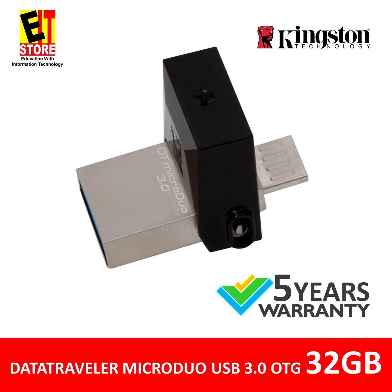 128gb Mini Usb Flash Drive Stick External Memory Storage For Flashdisk Kingston Datatraveler Microduo 30 Micro Otg 32gb Dtduo3 Smartphone Tablet