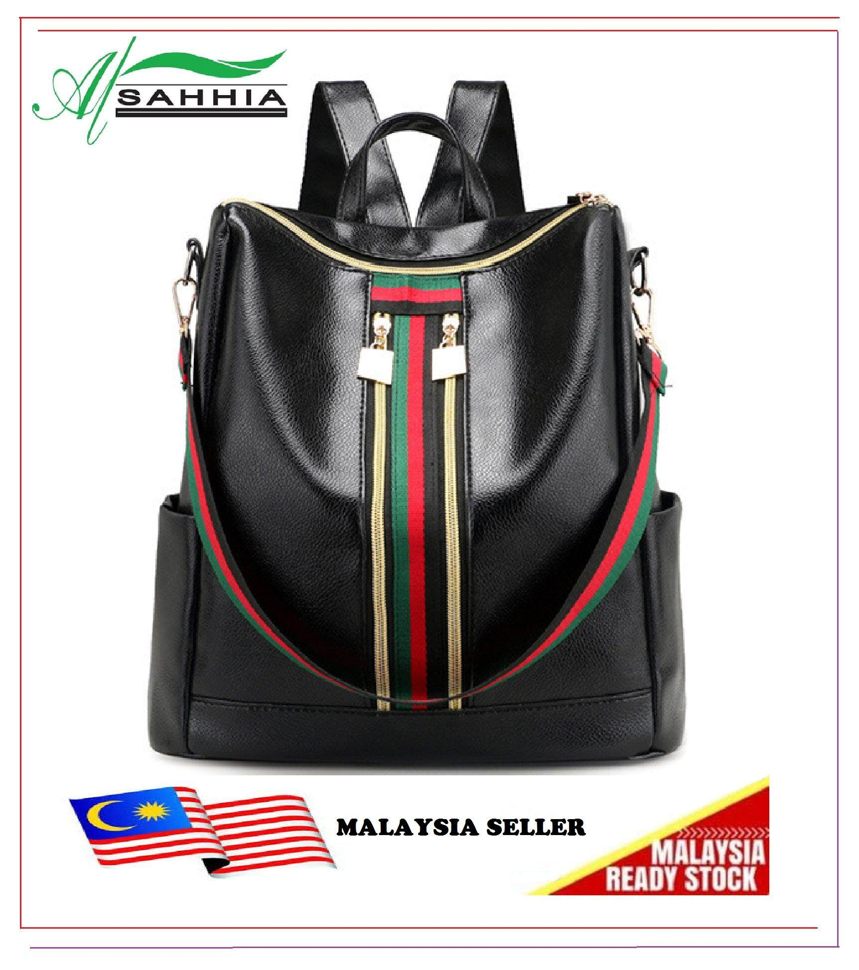Women Backpacks Buy At Best Price In Malaysia Tas Ransel Distro Backpack Traveling Lots Of Pockets Al Sahhia Ready Stock Grand Warni Beg Pu Bag Travel Casual Colour Zip