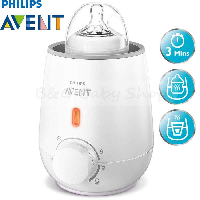Philips Avent SCF355 Bottle Warmer (Silver) With 2 Years Warranty