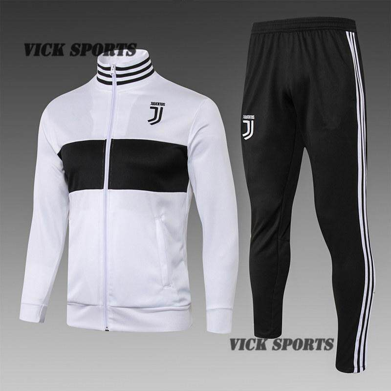 newest 7b977 eee90 18/19 Juventus Football Jersey Long Sleeve T-Shirt Training Wear Sportswear  And Pants Suit Running Suit Leisure Sport Training Suit Sweatshirt Kit By  ...