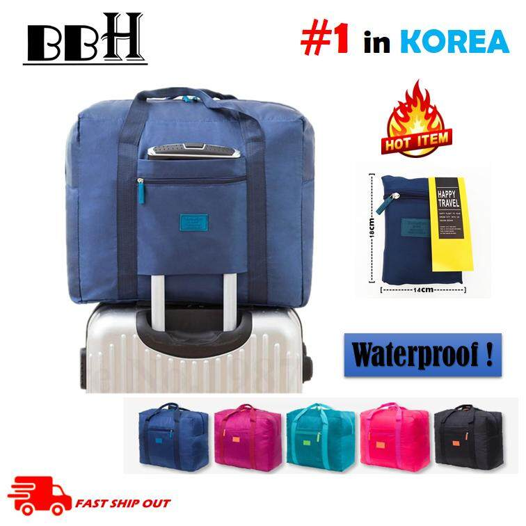 READY STOCK Portable Luggage Carry on Bag Travel Clothing Organizer Storage Bag