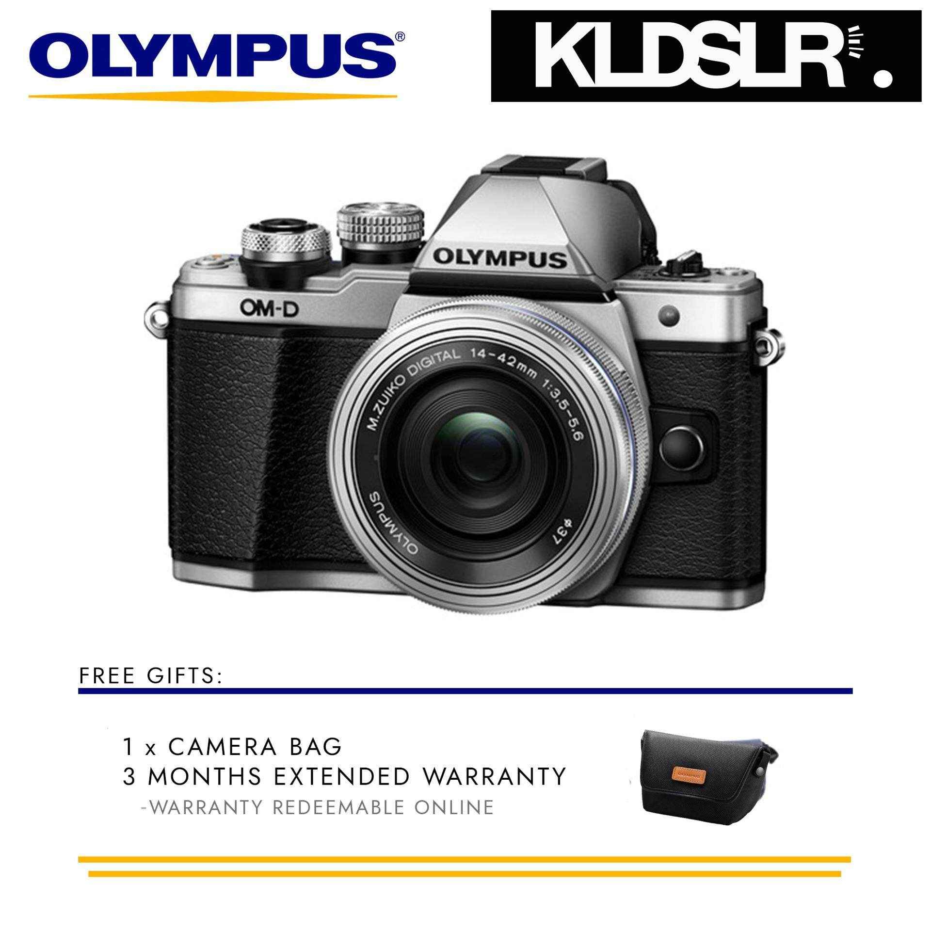 Olympus OM D E M10 Mark II Mirrorless Micro Four Thirds Digital Camera with