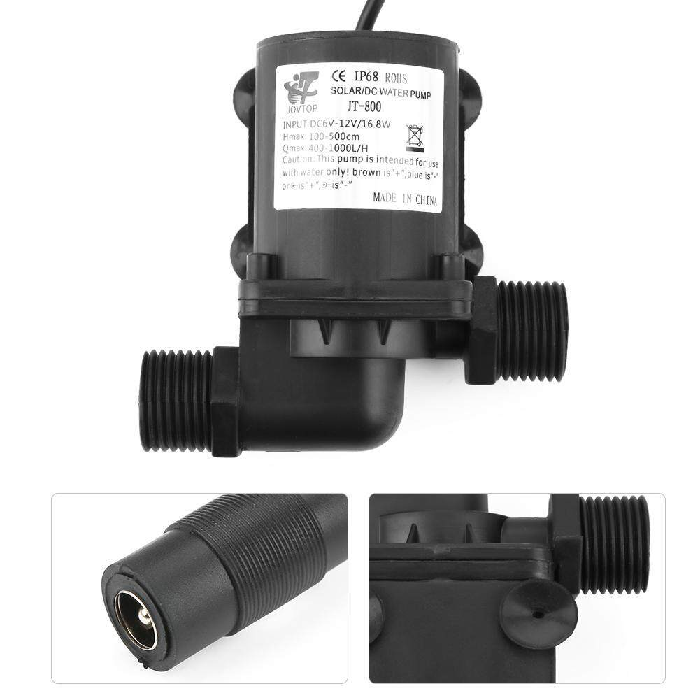【Made in Italy 】Mini DC Brushless Water Pump for Small Fish Pond 12V -40℃ ~100℃