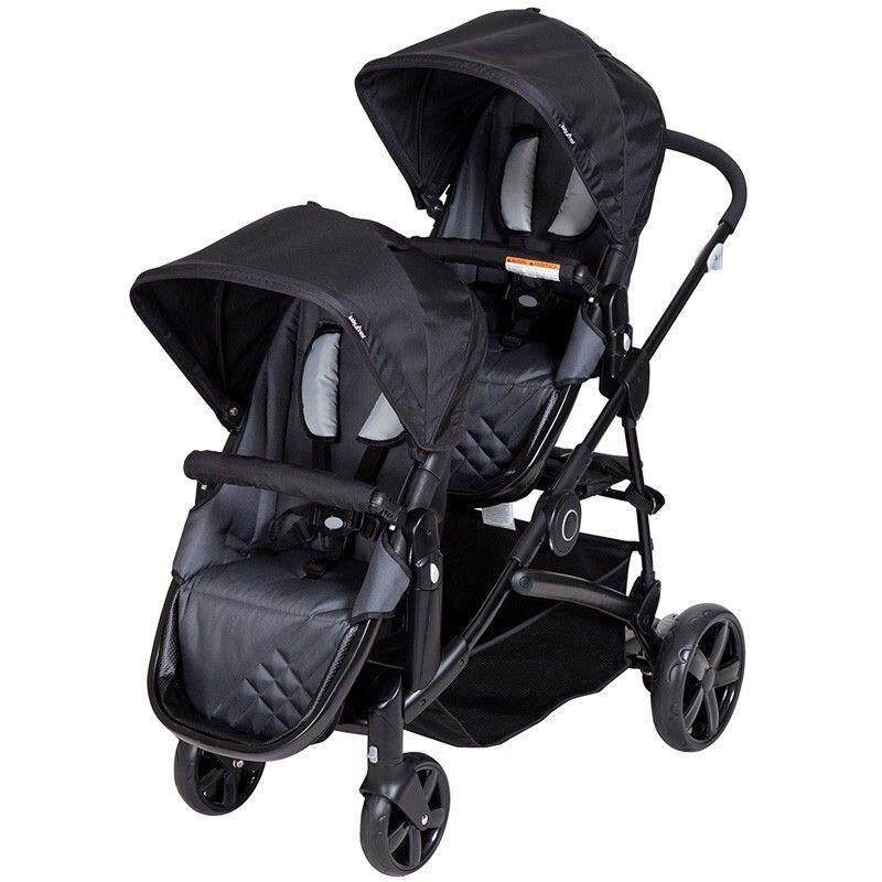 Baby Trend Tandem Twin Double Sit N Stand Snap Gear Stroller