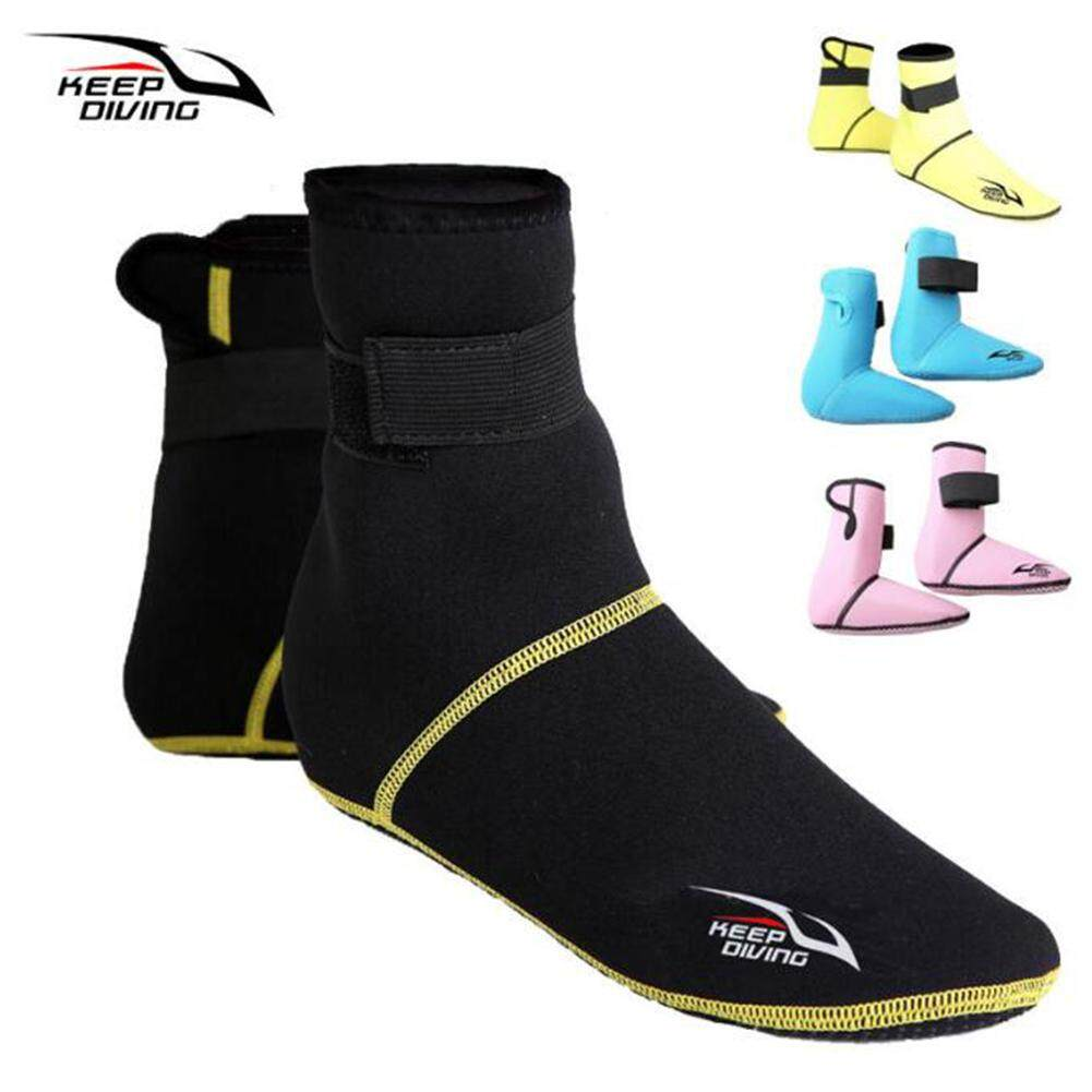 f717d7a0e8b4 FC LB 3mm Thicken Diving Socks Shoes Snorkeling Boots Neoprene Non-slip  Breathable Swim Shoes
