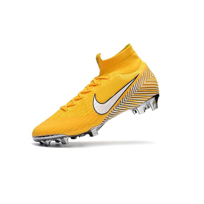 c5b86d0a3e80c High Ankle Football Boots Superfly Original Fly Knit 360 Elite FG Men's  Soccer Shoes VI 12
