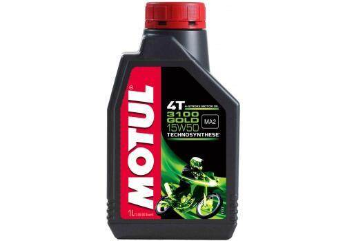 Original Motul 3100 15w50 4t 1l By Motorcycle Spare Part Service.