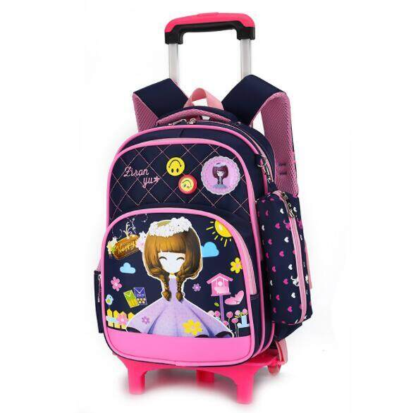 Primary School Trolley Children Removable Backpack Oto2 By Taobao Collection.