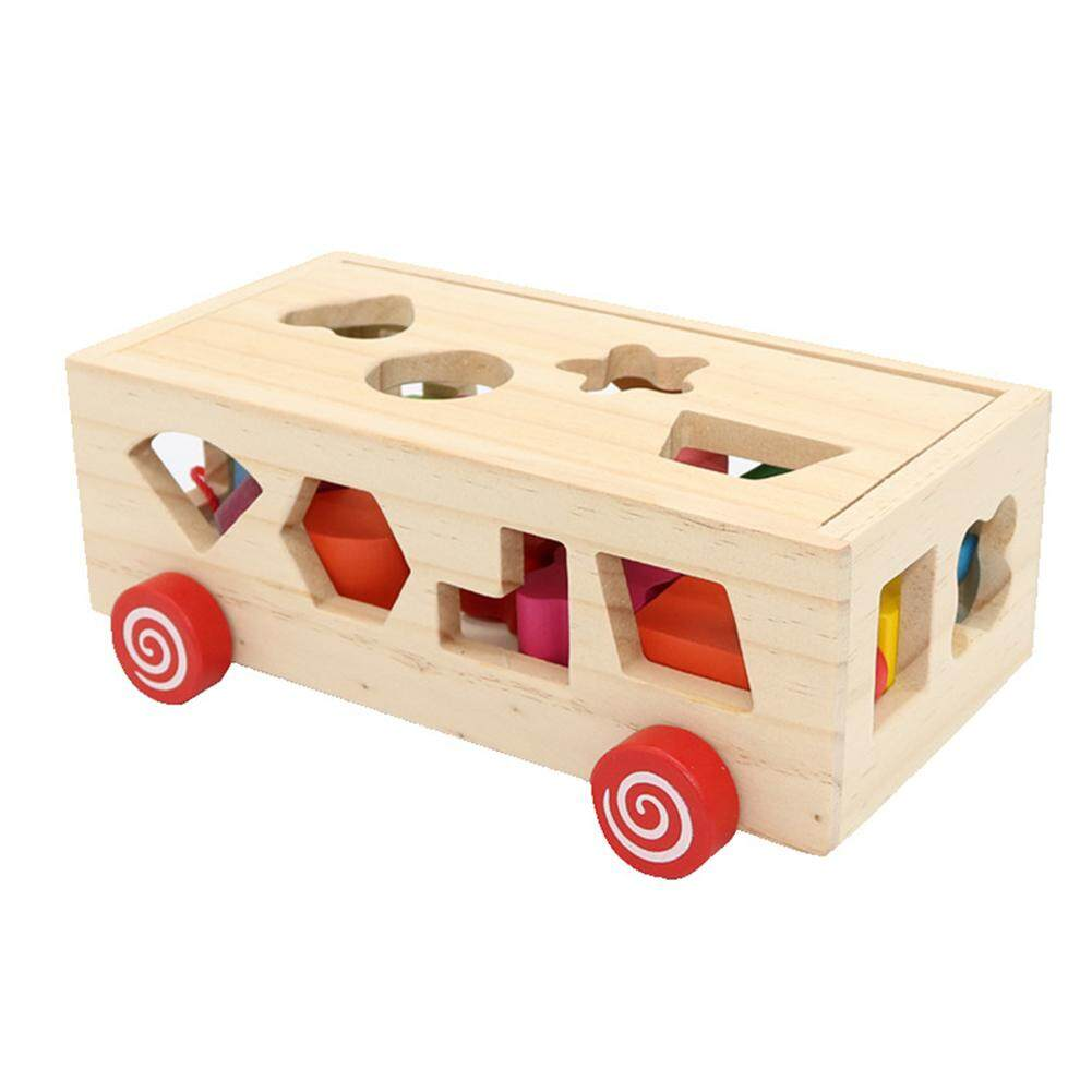 Yanyi 16 Holes Intelligence Box Wooden Different Shape Sorter Baby Cognitive And Matching Building Blocks Kids Children Early Educational Toys By Sa Yanyi.