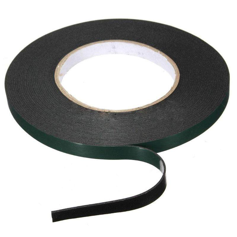 10m Strong Waterproof Adhesive Double Sided Foam Black Tape For Car Trim home 10MM*10M