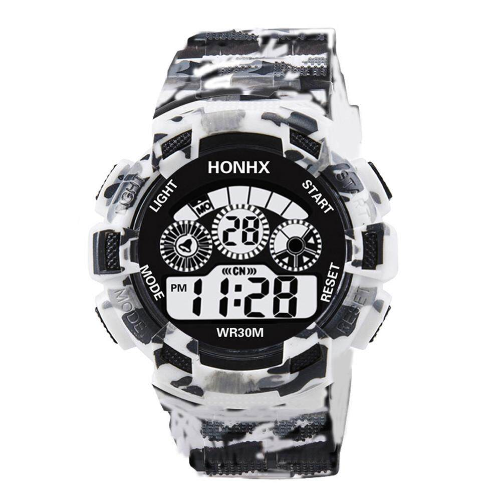 ◆ GC Cod New Fashion Mens Digital LED Analog Quartz Alarm Date Sports Wrist Watch Free shipping Malaysia