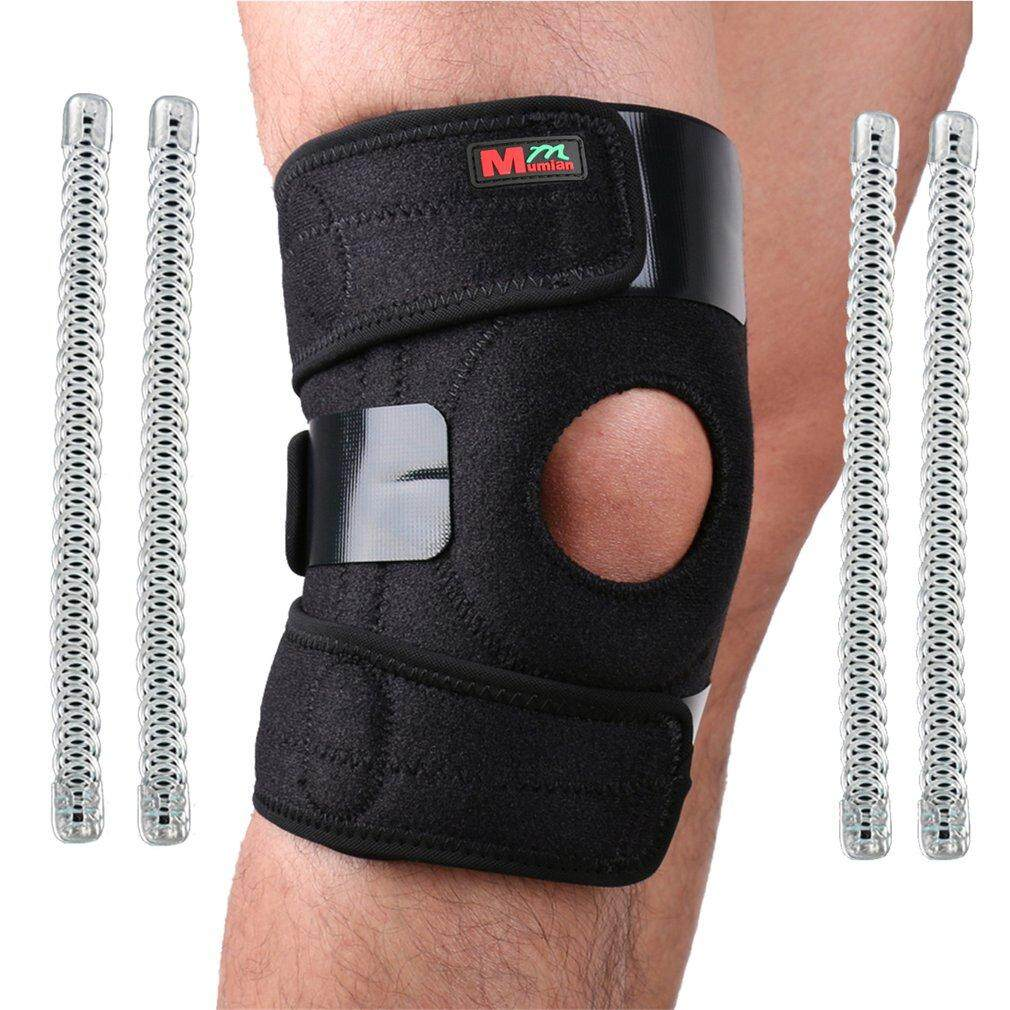 Best Sellers 1PC Knee Protector Knee Pads Silicone Elastic Bandage Design Knee Support