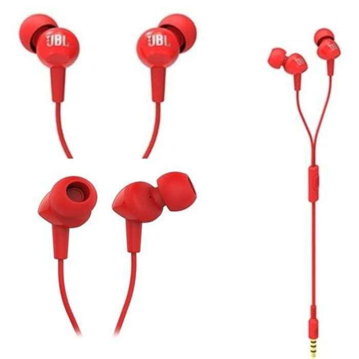 6c772e23023 ORIGINAL JBL C100SI LIGHTWEIGHT WIRED IN-EAR HEADPHONES WITH MIC [CLEARANCE]