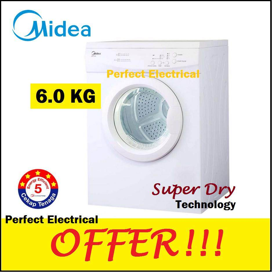 Midea Tumble Dryer 6kg with Vented Sensor Dry MD-6288