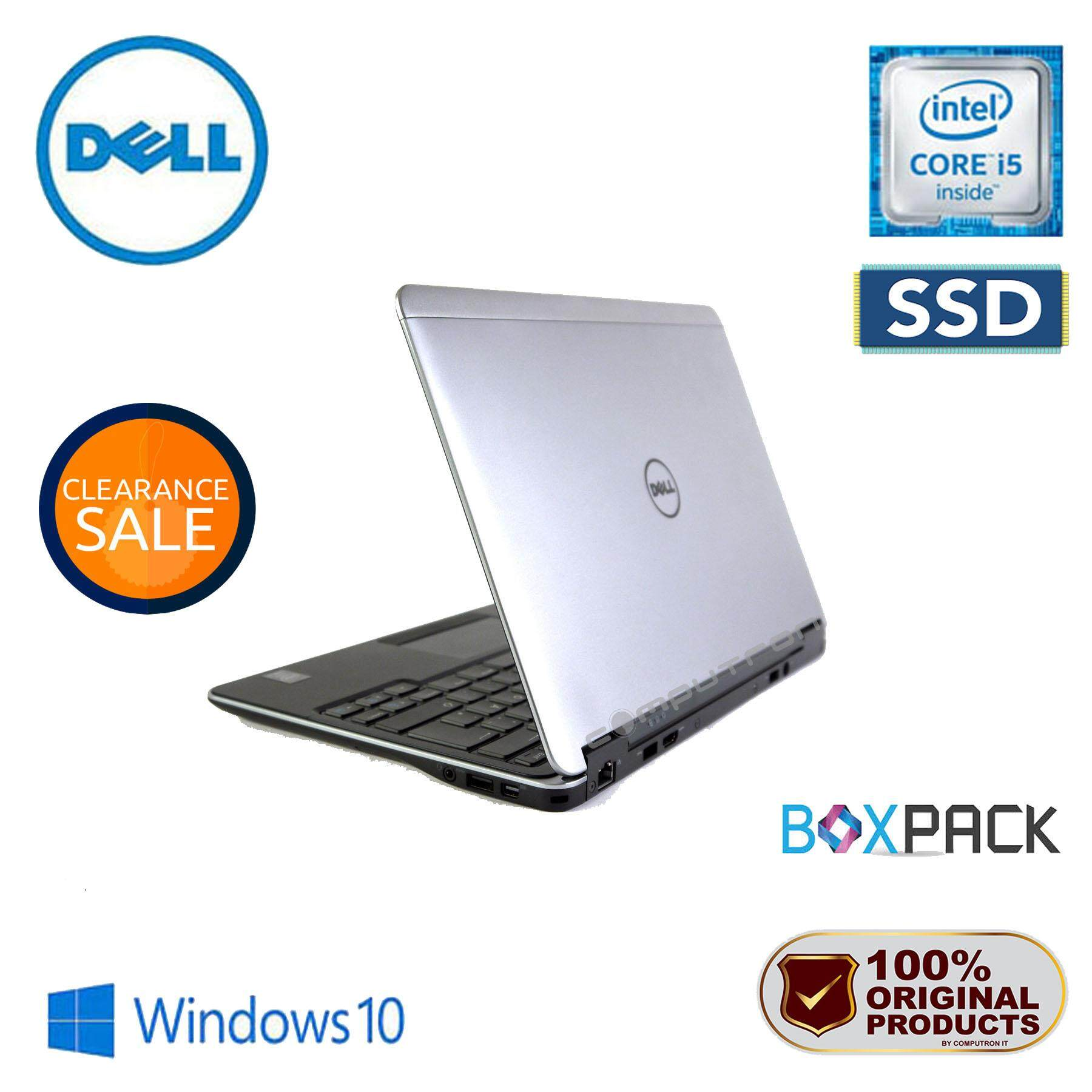 DELL LATITUDE E7240 ULTRABOOK [CORE I5-4300U/ 4GB RAM/ 128GB SSD] 1 YEAR WARRANTY Malaysia