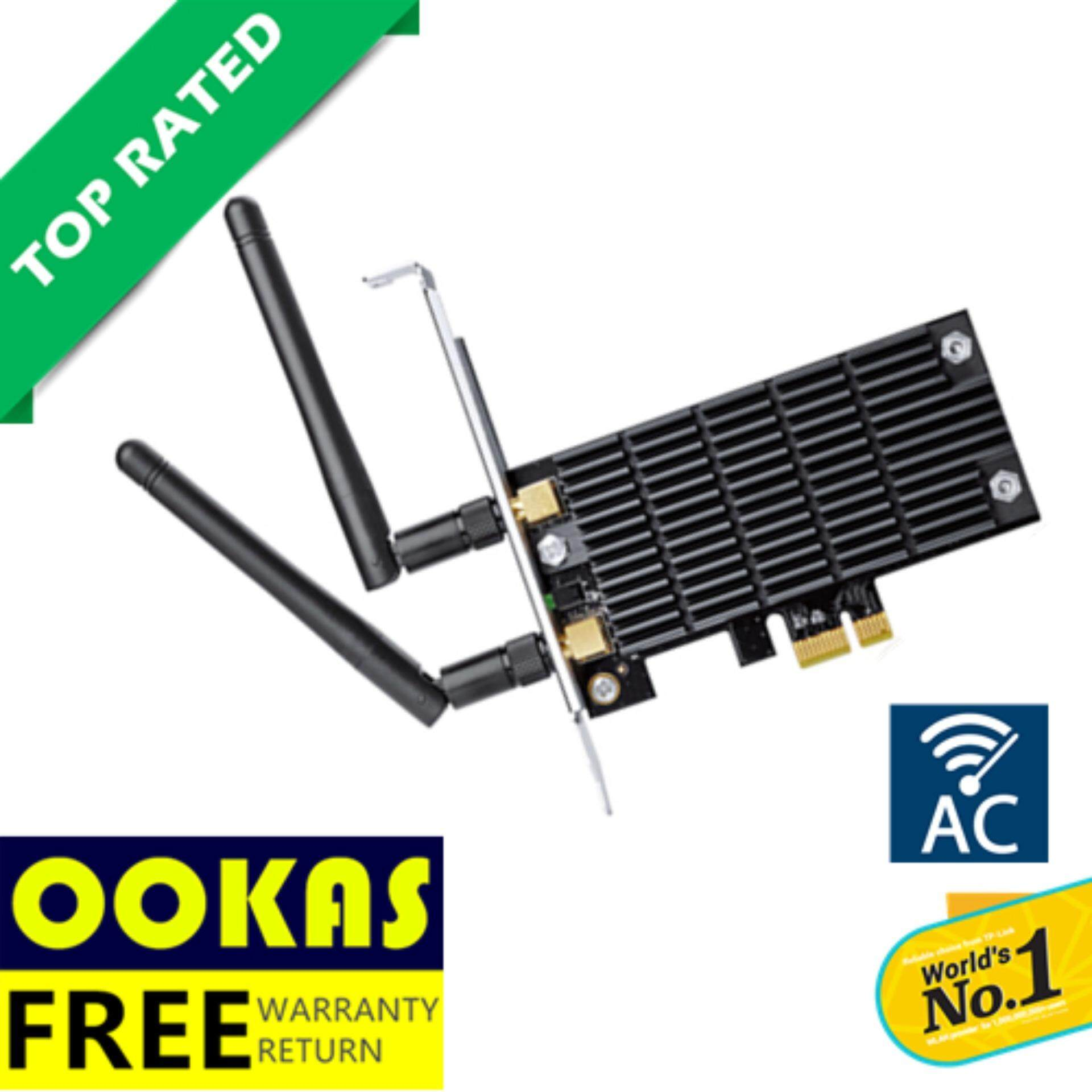 TP LINK AC1300 Wireless Dual Band PCI E Express Adapter Archer T6E