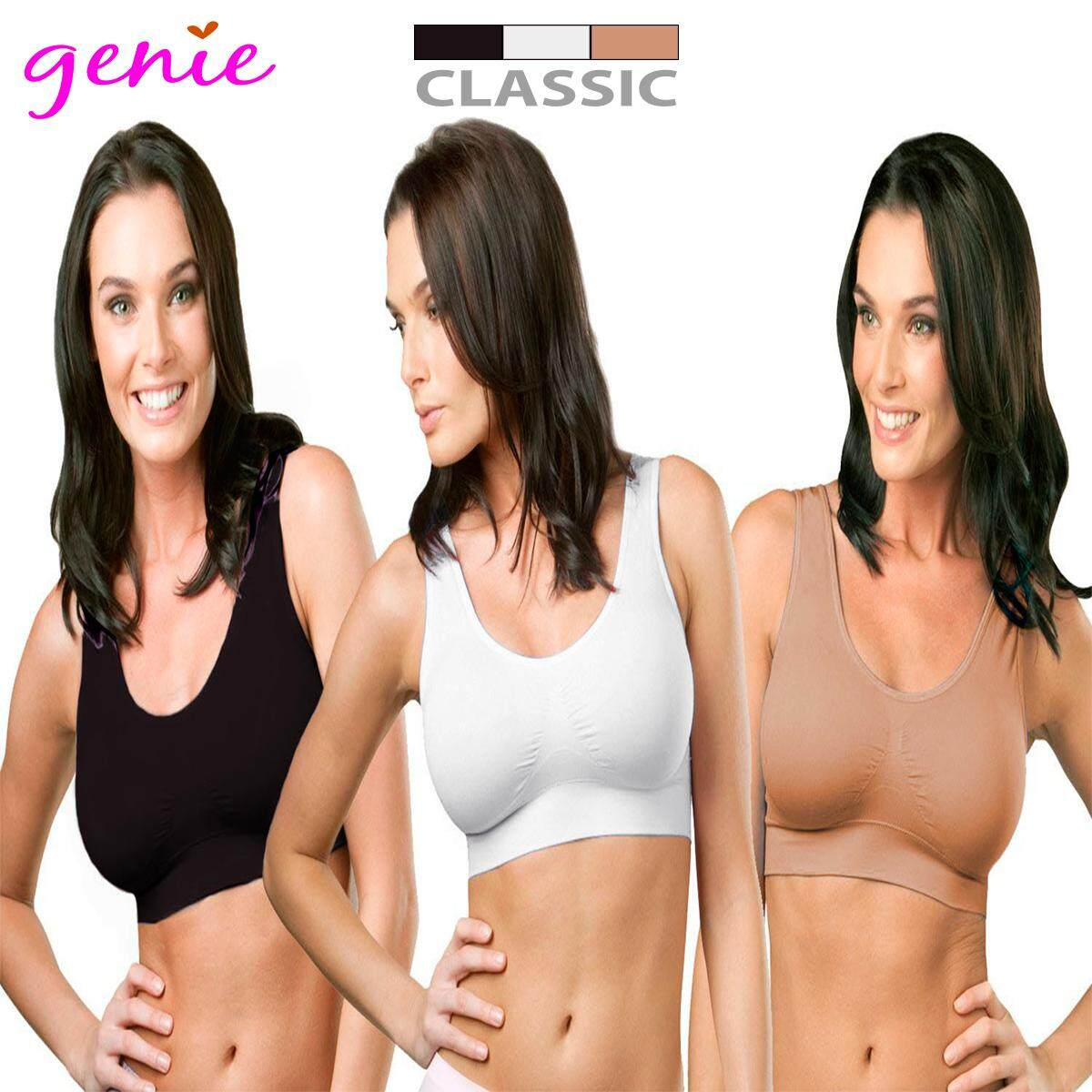 fb7ce92c55b  READY STOCK  100% Original Genie Bra Classic