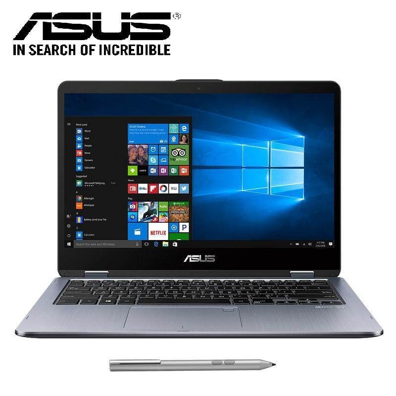 Asus Vivobook Flip 14 TP410U-FEC026T 2-in-1 Laptop (i5-8250U/4GB D4/1TB/NVD MX130 2GB/14FHD Touch/W10) Grey Malaysia