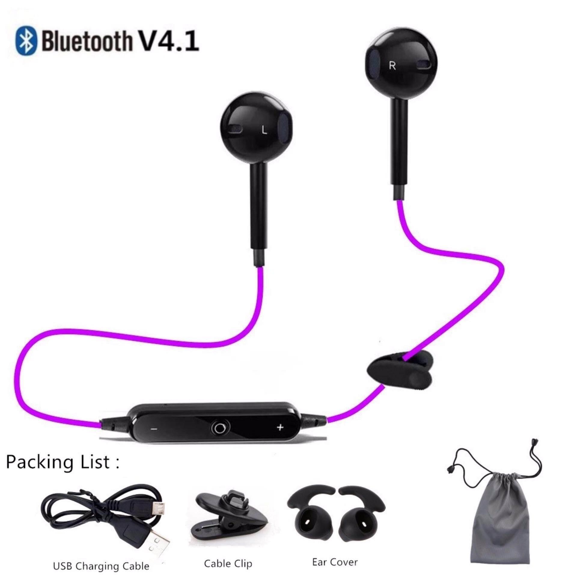 10 Colors Headphones In-ear Waterproof Sport Bluetooth V4.1 Wireless Earphones Headset Stereo