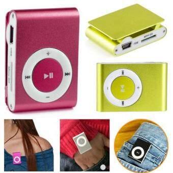 Cyber Mini Fashoin Clip Metal USB MP3 Music Media Player Support 1 - 8GB Micro TF