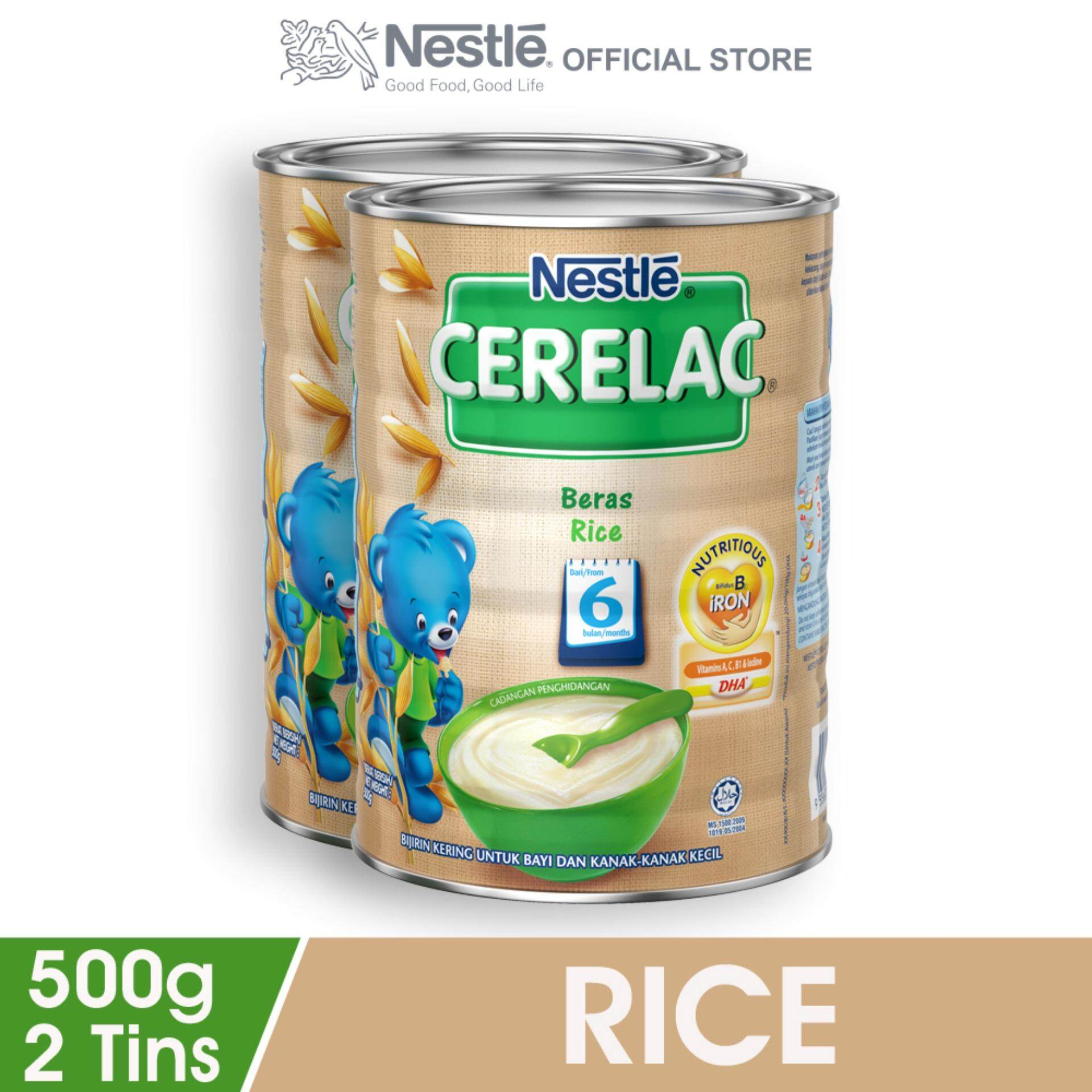 Nestle Products With Best Price At Lazada Malaysia Coffee Mate 450gram By Creamer Krimer Cerelac Rice Infant Cereal Tin 500g X2 Tins