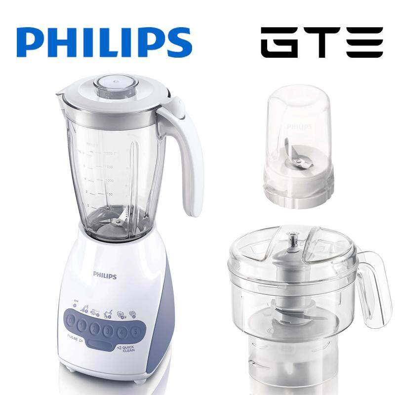 *RM258 90* PHILIPS Blender 600W 2L Glass Jar Multi Mill
