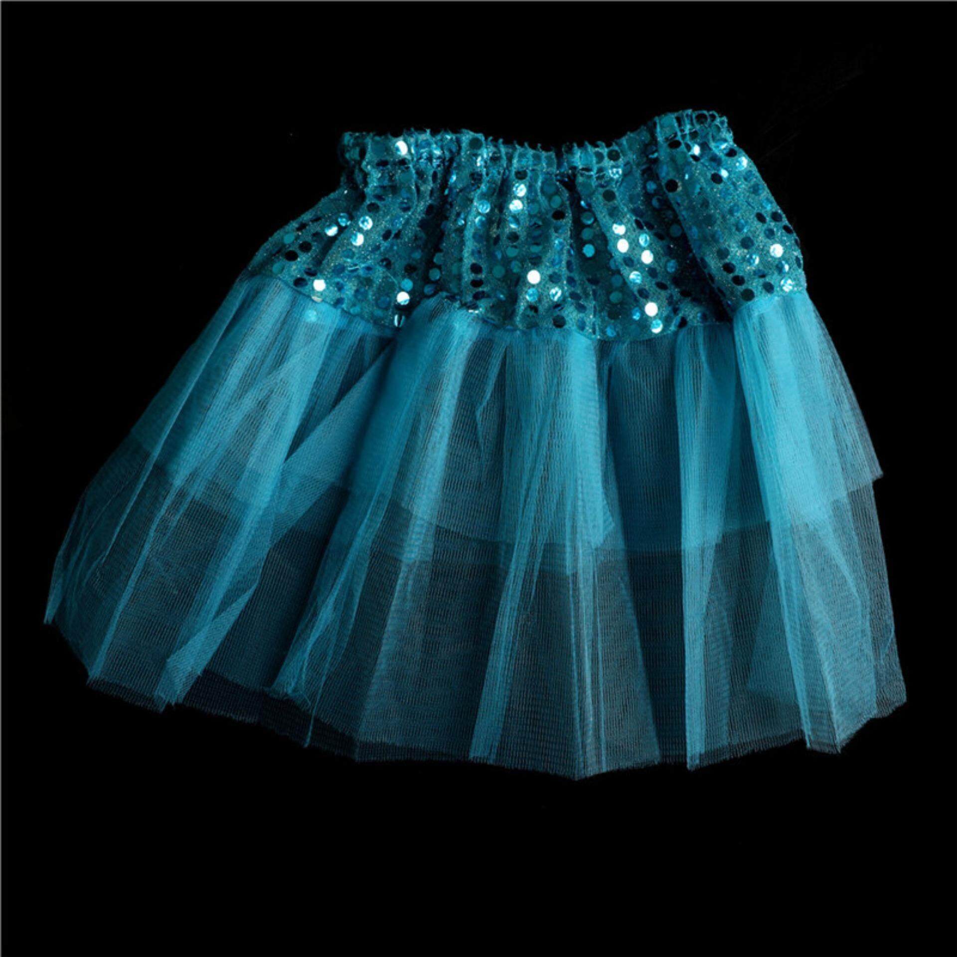 Princess Tutu Skirt Girls Kids Party Ballet Dance Wear Pettiskirt Dress Clothes By Magical House.