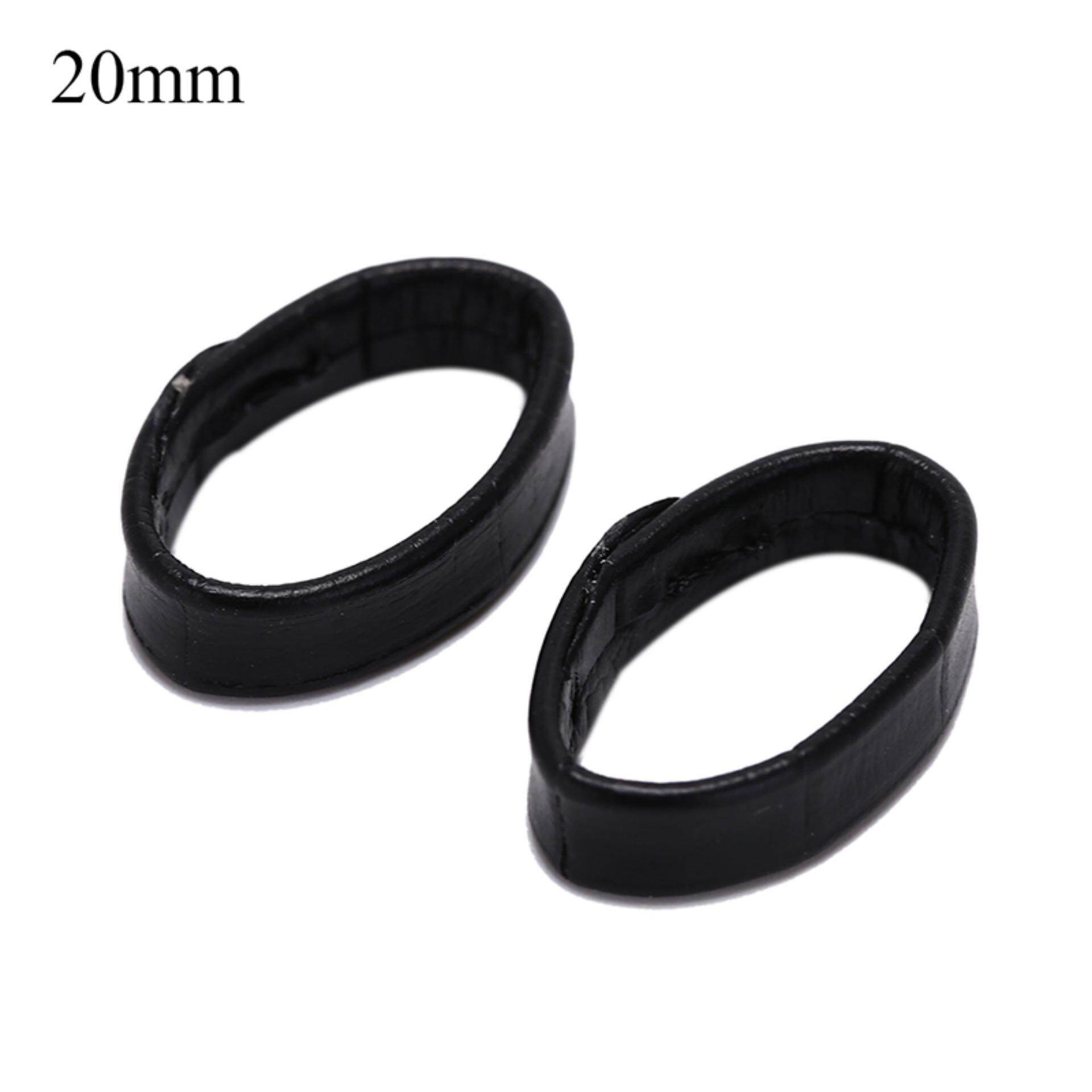 2pcs leather watch band loop strap holder locker keeper loops tool  20mm Malaysia