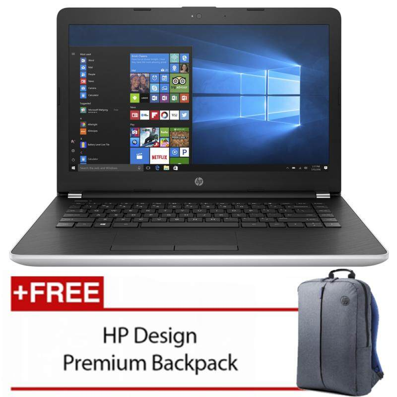 HP Notebook 14-BS538TU/14-BS537TU(Intel Celeron N3060 500GB 4GB Intel® HD)(Black/ Silver) [FREE] HP Backpack Malaysia