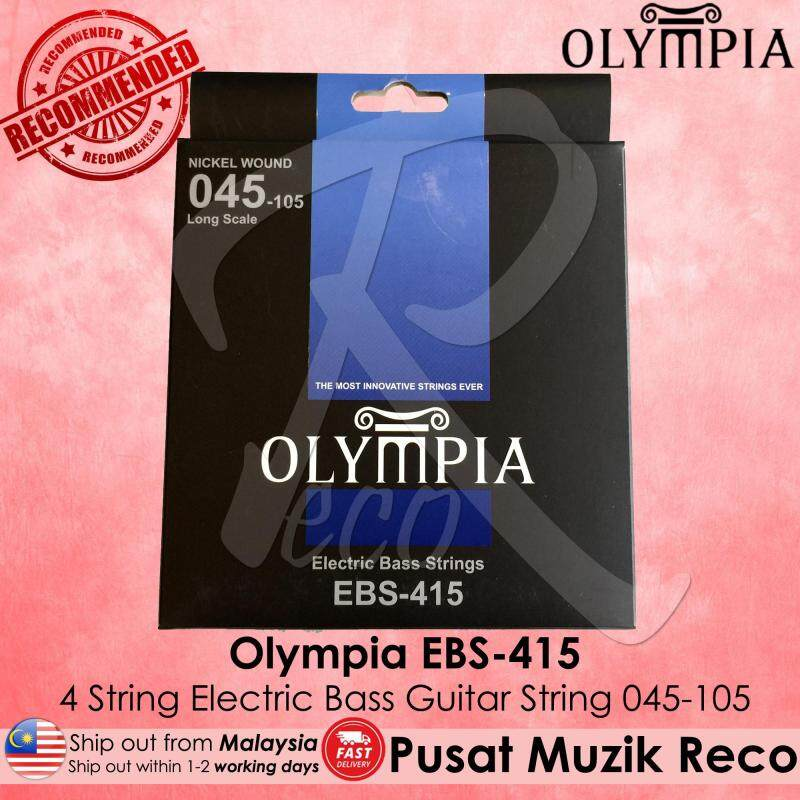 Olympia EBS-415 4 String Electric Bass Guitar String SET EBS415 Malaysia