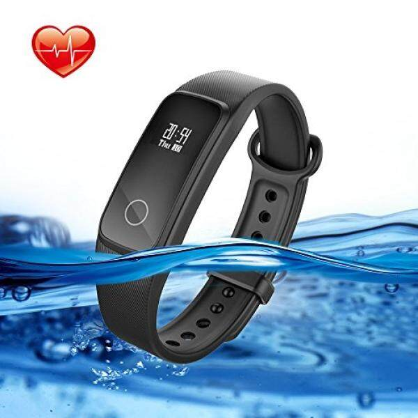 Lenovo Fitness Tracker With Heart Rate Monitor Swimming, G10 Waterproof Activity Tracker Sport Watch With