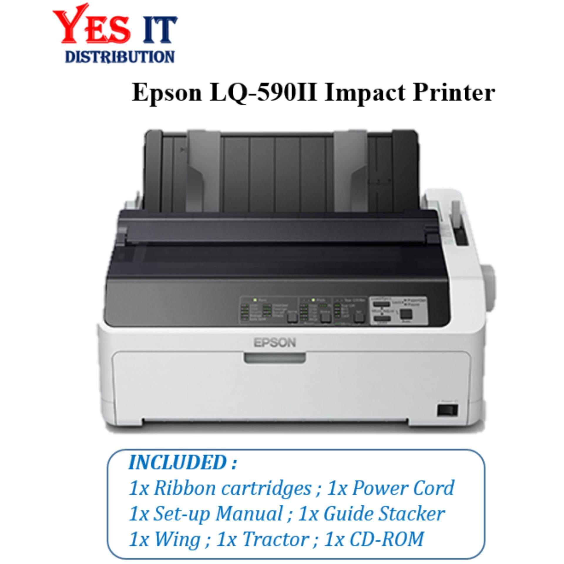Epson Lq-590 Ii Impact Printer By Yes It Distribution.