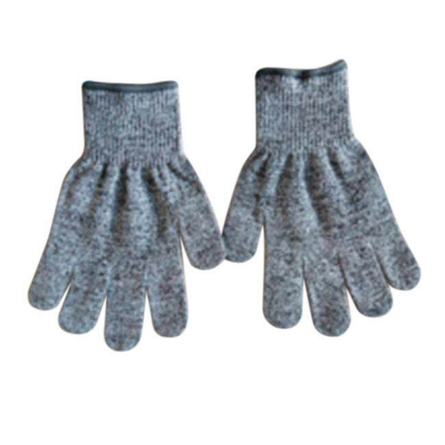1 Pair 5 Level Cut Resistant Gloves Kitchen Garden Working Protective Hand Glove NEW, L