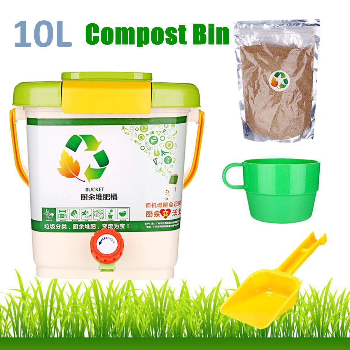 10l Recycle Composter Aerated Compost