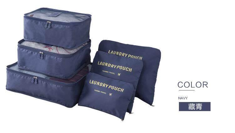 Travelling 6pcs Organizer Storage Bag