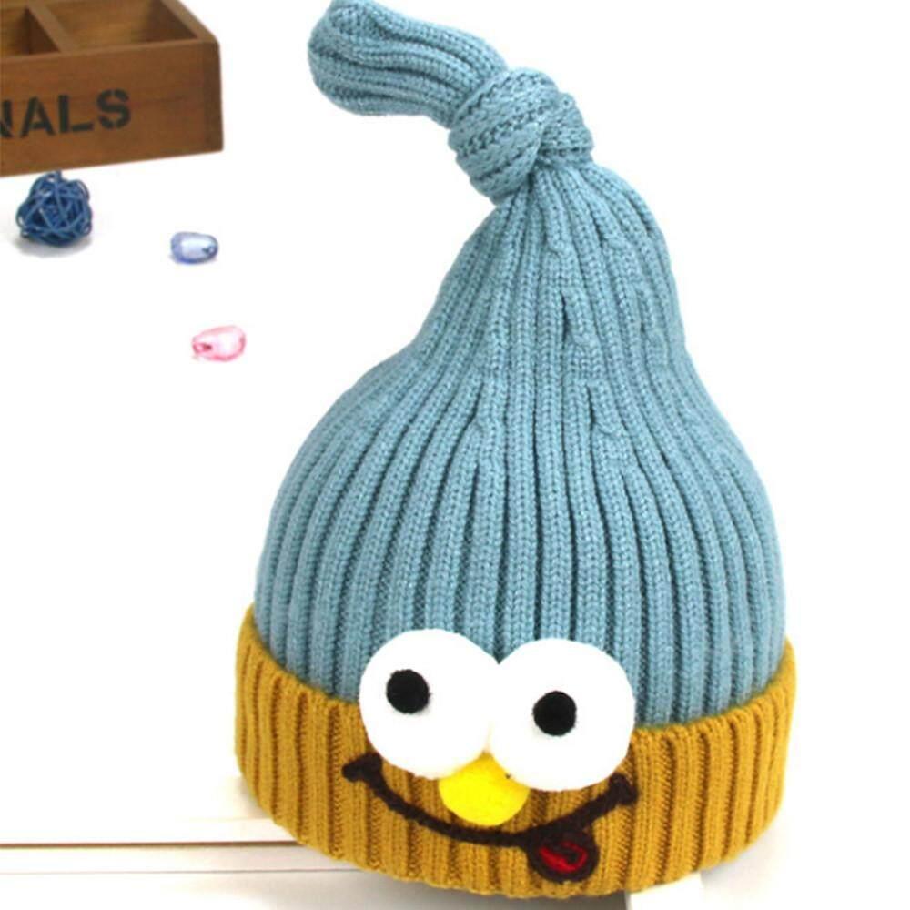 Docesty Cute Toddler Kids Girl Boy Baby Infant Winter Warm Crochet Knit Hat  Beanie Cap c0b55b5f0f96