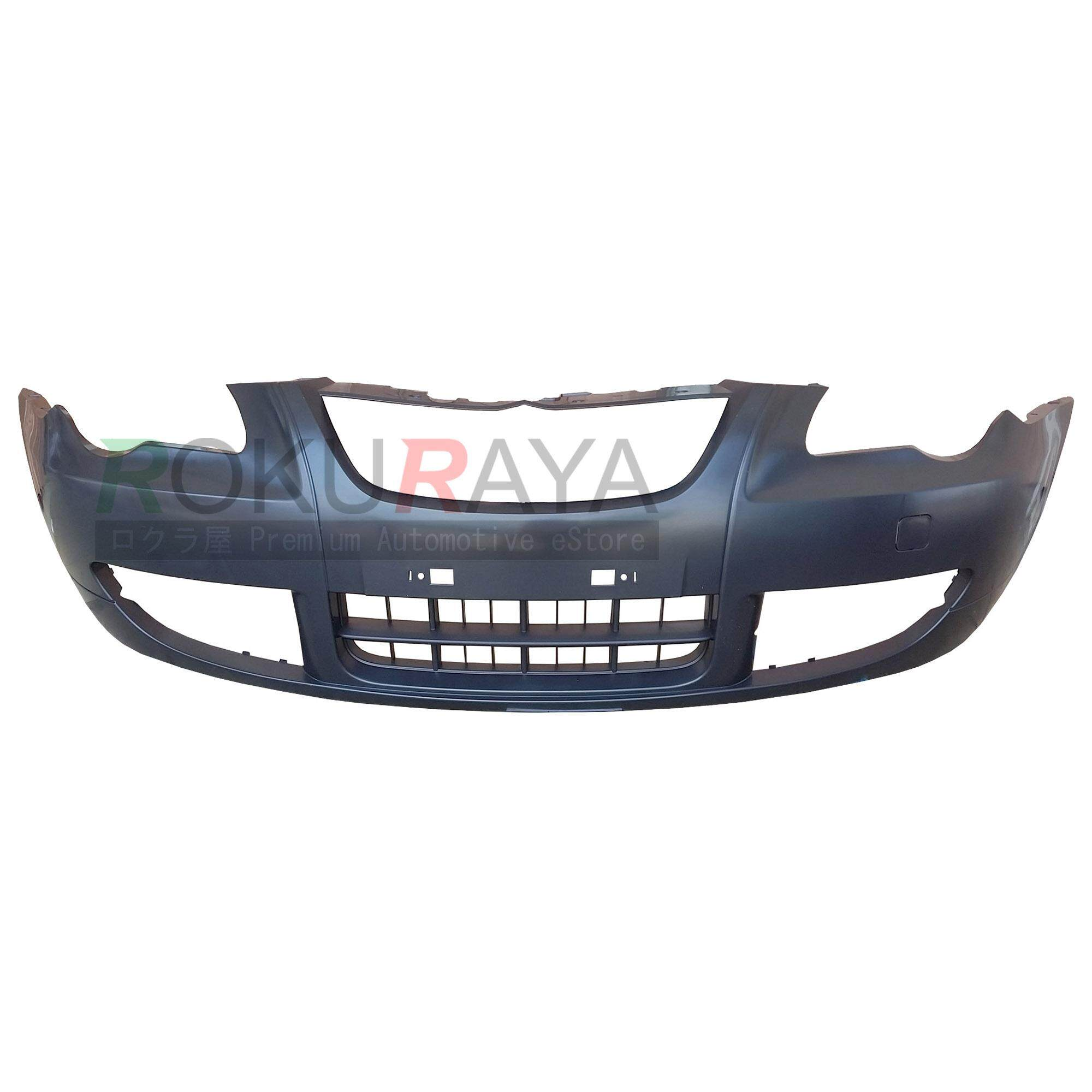 Proton Persona Elegance (2009) Oem Standard Front Bumper Polypropylene Pp Plastic Body Part Oem Replacement Spare Part - Black - Suitable For Gen2 Gen-2 (2004) By Automart Rr.