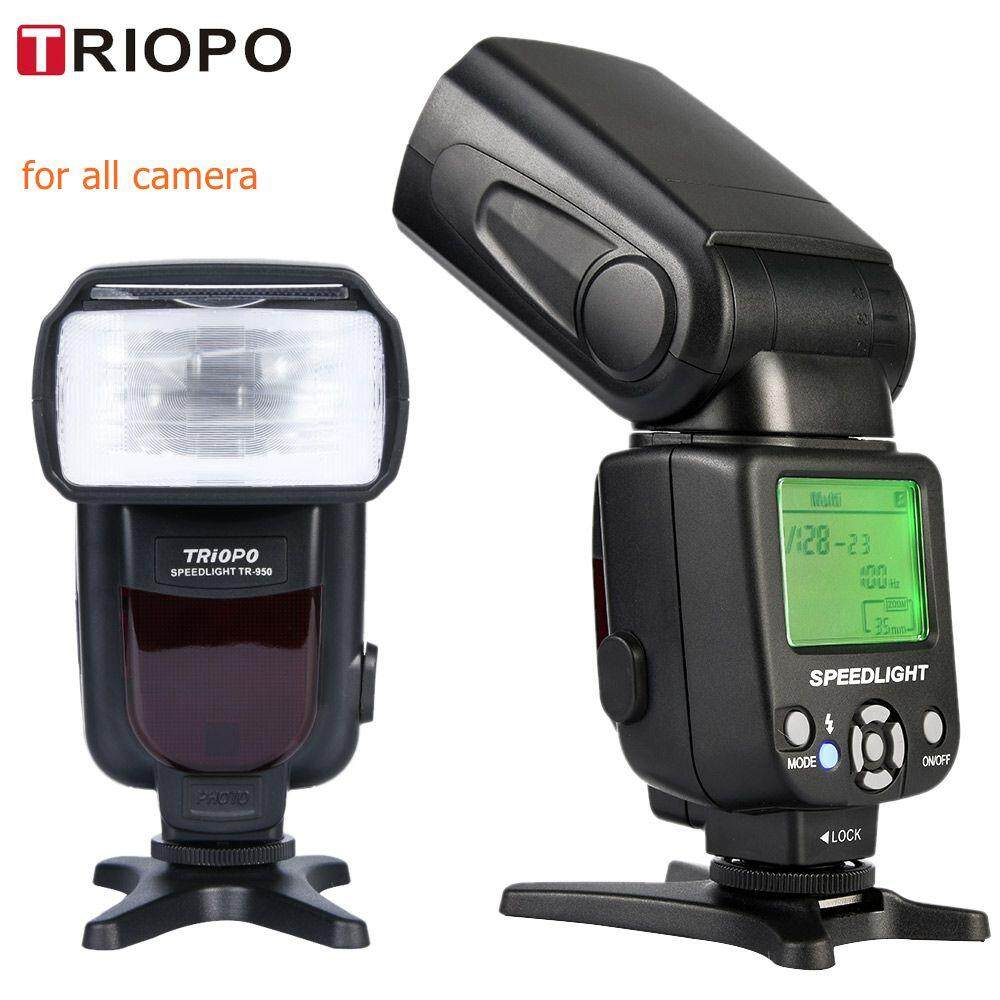 Buy Camera Flashes At Best Prices Lazada Malaysia Free Shipping Nikon Sb 700 Speedlight New Triopo Tr 950 Flash Light Speedlite Universal For Fujifilm Olympus D5300 Canon 650d