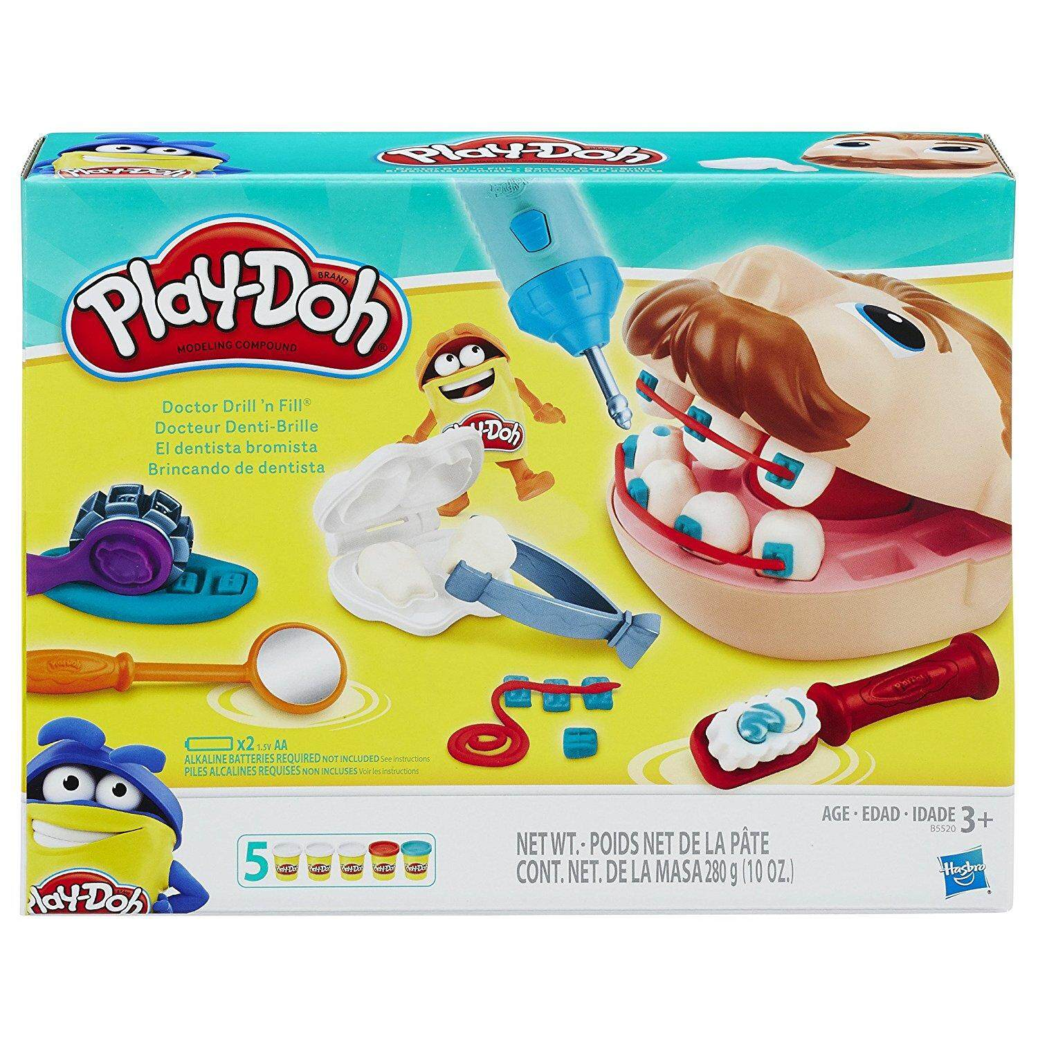 Play-Doh Doctor Drill N Fill Retro Pack By Funny Toys.