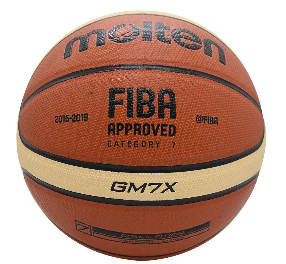 Original Gm7x New Brand High Quality Genuine Pu Material Official Size7 Basketball (red) By Enjoy House.