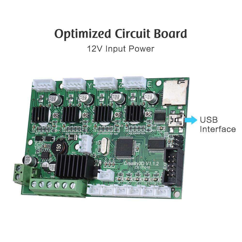 3d Printer Parts & Accessories Creality Motherboard Controller Board Mainboard For Creality Cr-10/ 10mini 3d Printer Self Assembly With Usb Port & Power 12v