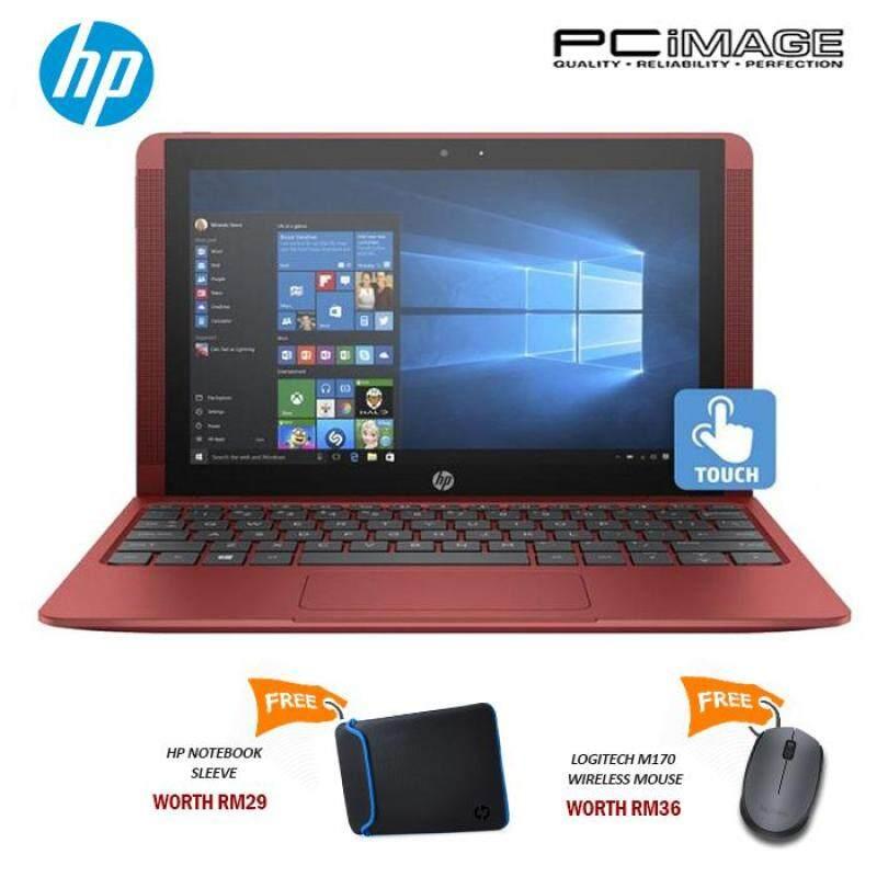 HP X2 10-P020TU (Intel Atom Z8350, 500GB+32GB, 2GB DDR3L, W10) Notebook-Red Malaysia