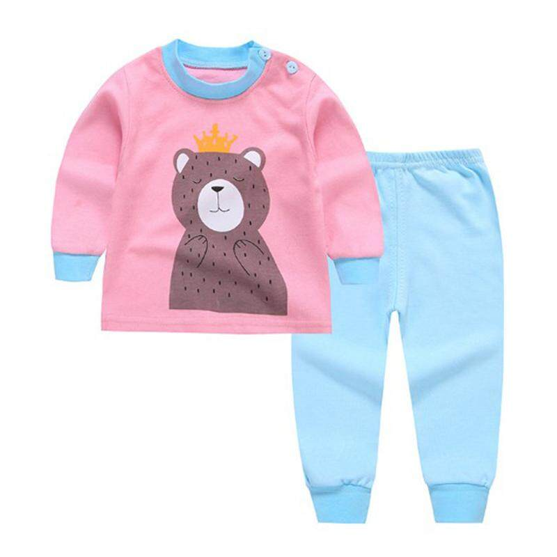 6e4b2ce5f1bc Cutiebaby Boy Girl Child Kids Infant Toddle Cute Long Sleeve Tops+Pants