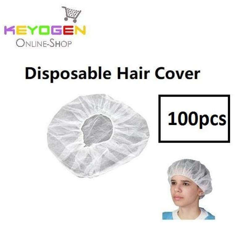 100pcs Keyogen disposable hair cover net cap