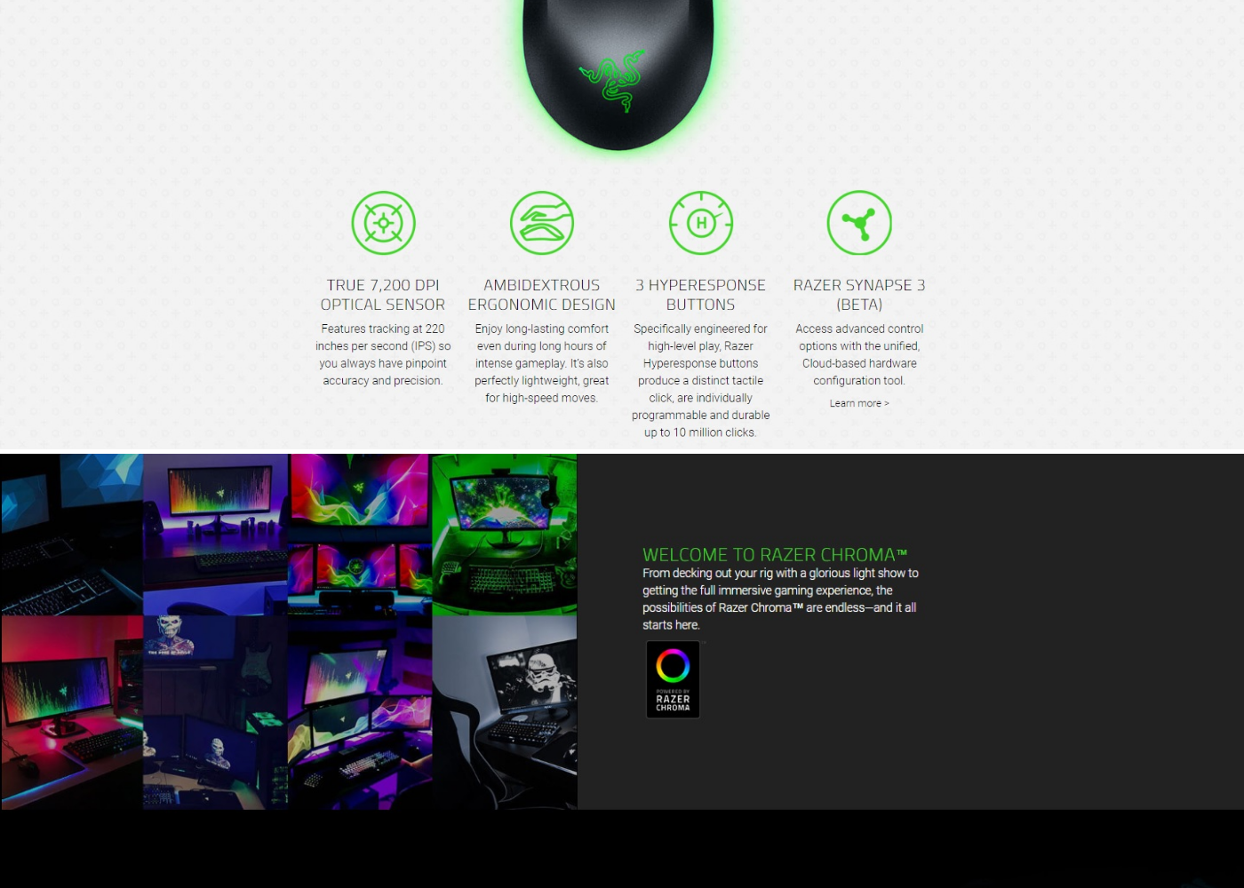 Razer Mouse Abyssus Essential