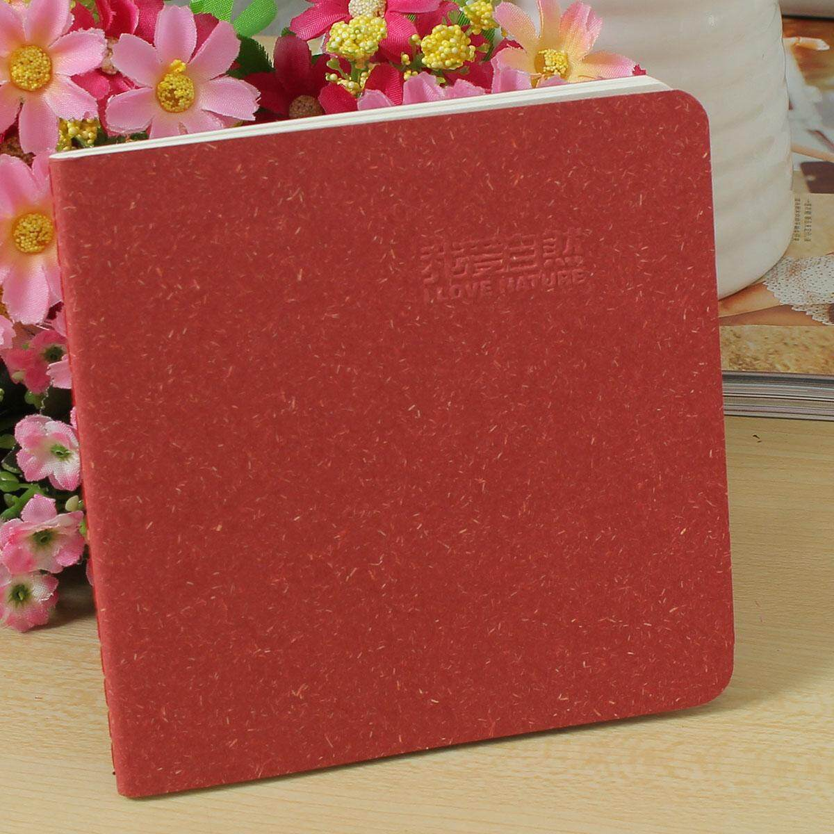 1pcs Vintage Retro Style Solid Color Notebook Paper Notepad Pockets Notepad Diary Sketchbook Stationery Office School Supplies By Autoleader.