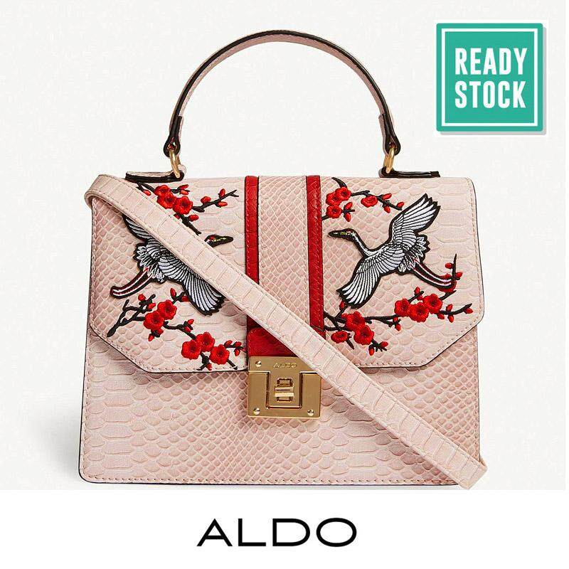 Authentic Aldo Crane Satchel Pink