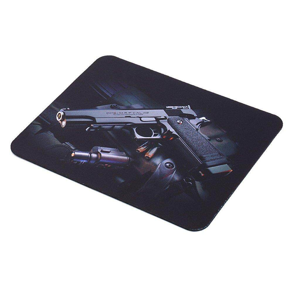 Befu Guns Pattern Anti-Slip Computer Gaming Mouse Pad Mat Mousepad 22cm*18cm Malaysia