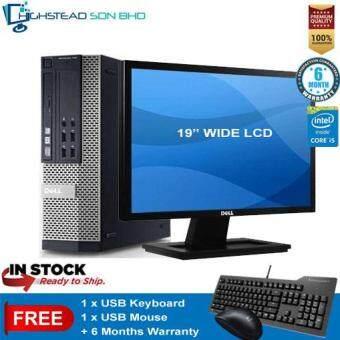 Dell 790 Ci5-2400 3.1GHz 4GB 320GB + 19 Inch LCD Wide Refurbished