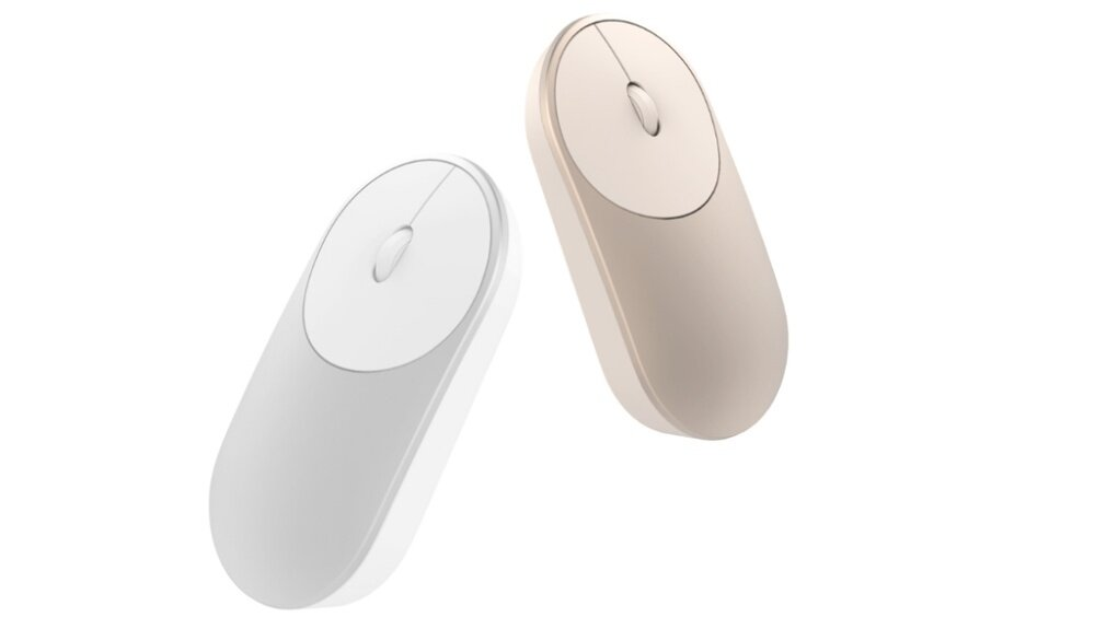 2b11796f46c Product details of Original XIAOMI Mi Portable Mouse Bluetooth 2.4G Wireless  Aluminium Silver / Gold / Grey
